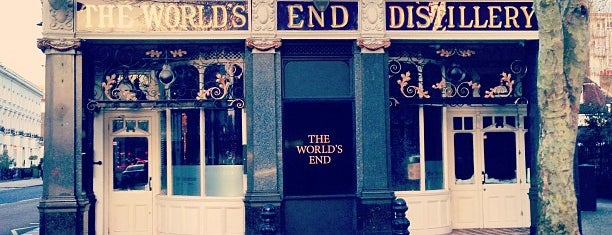 World's End Distillary is one of London, UK 🇬🇧.