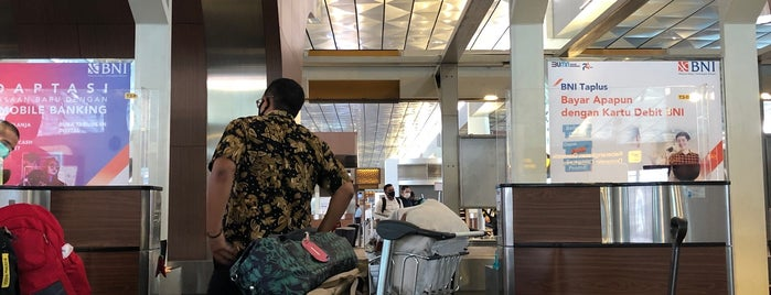 Garuda Indonesia Domestic Check-In Counter is one of Fanina 님이 좋아한 장소.