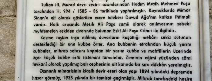 Mesih Ali Paşa Camii is one of İstanbul Avrupa Yakası #2 🍁🍃.