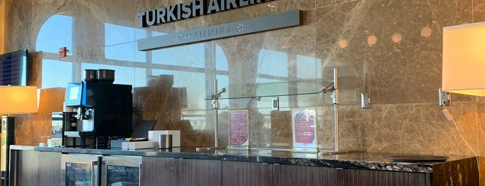 Turkish Airlines Lounge is one of Richard 님이 좋아한 장소.