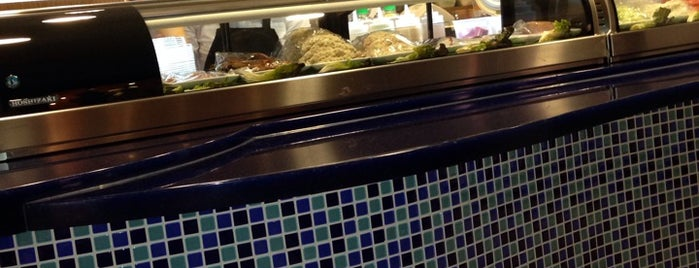 Wasabi Sushi is one of สถานที่ที่ Franklin ถูกใจ.