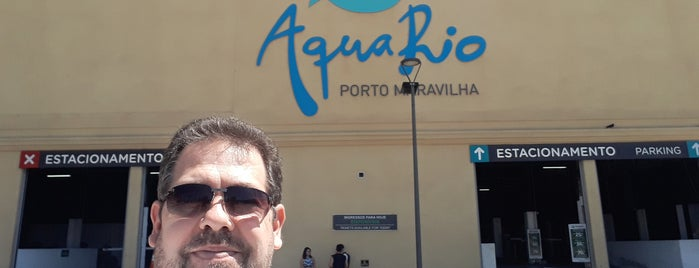 AquaRio - Aquário Marinho do Rio de Janeiro is one of Locais curtidos por Gilvam.
