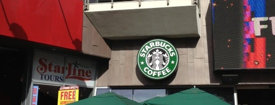 Starbucks is one of Los Ángeles.