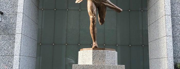 絆の像 is one of Tokyo・Kanda・Kudanshita.