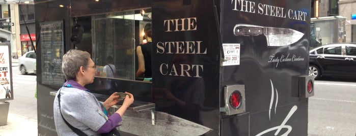 The Steel Cart is one of Good eats.