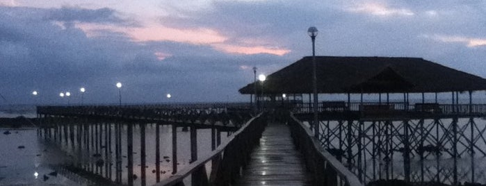 The Boardwalk at Cloud 9 is one of Siargao.