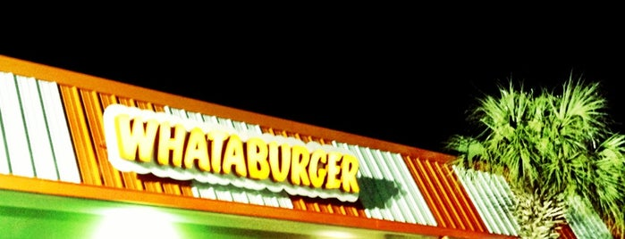 Whataburger is one of Sandestin area eats.