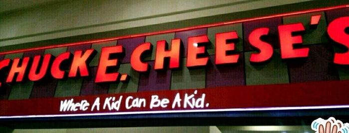 Chuck E. Cheese's is one of Beneficios.