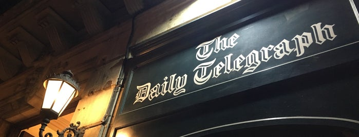 The Daily Telegraph is one of Bars molons.