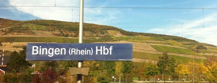 Bingen (Rhein) Hauptbahnhof is one of Bahnhöfe besucht !.