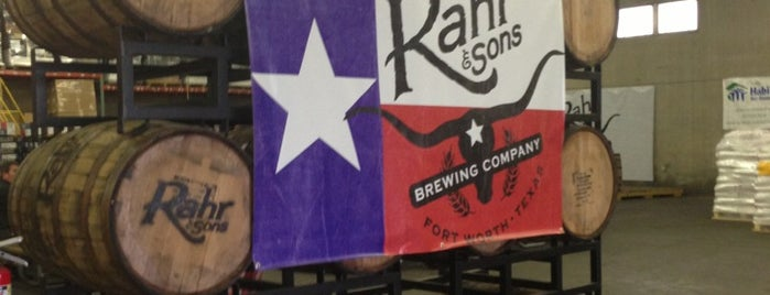 Rahr & Sons Brewing Co. is one of Dallas-Fort Worth.