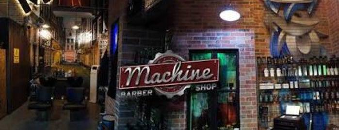 Machine Barber shop is one of Posti che sono piaciuti a Jocelyn.