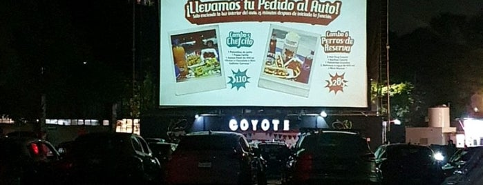Autocinema Coyote is one of CDMX: Coyoacán/San Angel.