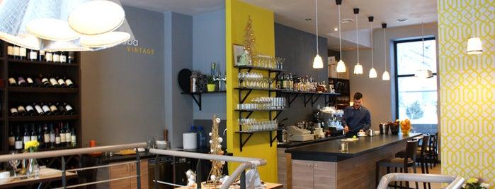 Viesistaba Vintage is one of 2012. gadā atvērtie restorāni Rīgā.