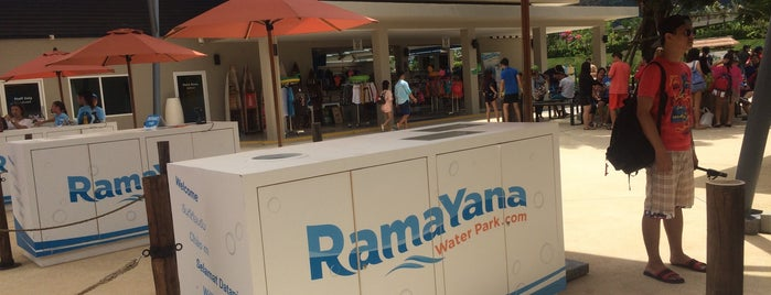 RamaYana WaterPark is one of (Temp) My Thailand.