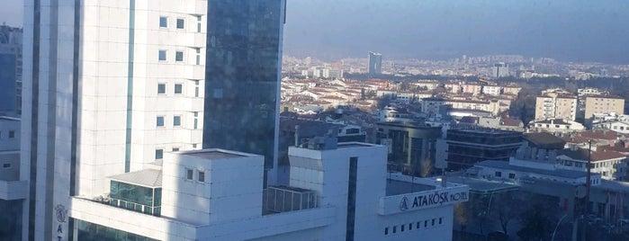 Ankara Ticaret Merkezi is one of Lugares favoritos de Özge.