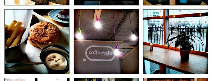 coffeetalk is one of Lieux qui ont plu à Julia.
