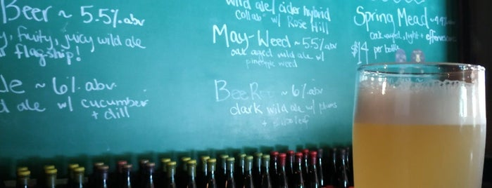 Plan Bee Farm Brewery is one of Food to Try - Not NY.