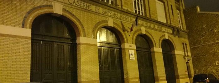 Caserne des Sapeurs-Pompiers rue Boursault is one of Orte, die Cyril gefallen.