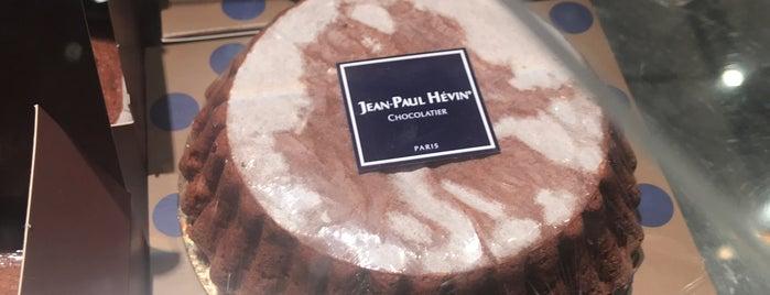 Jean-Paul Hévin is one of Guide Vuitton.