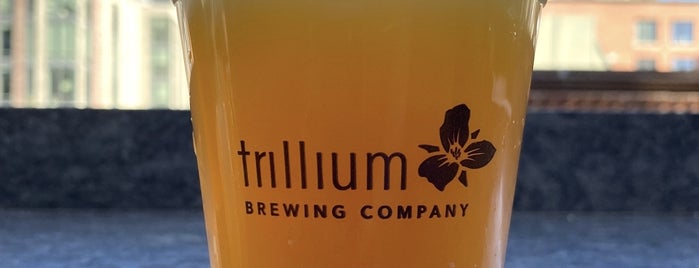 Trillium Brewing Company is one of Boston 2018/19.