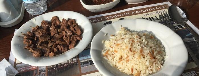 Meşhur Kavurmacı İstanbul Yolu is one of Ankara yemek.