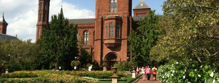 Smithsonian Institution Building (The Castle) is one of Washington DC.