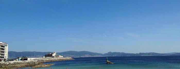 Praia de Silgar is one of Playas de España: Galicia.
