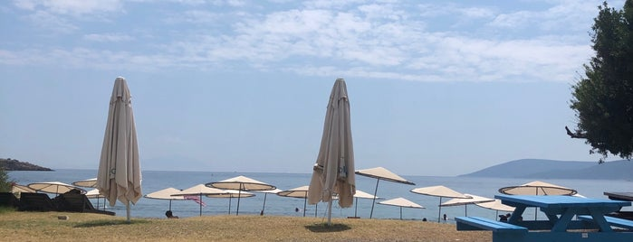 Menengeç beach club is one of Urla alacati foca.