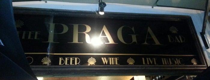 Praga Bar is one of Tempat yang Disukai Ana.