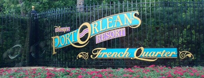 Disney's Port Orleans French Quarter Resort is one of สถานที่ที่ Alan ถูกใจ.