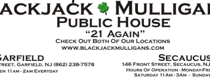 BlackJack Mulligans Secaucus is one of Secacus to do.