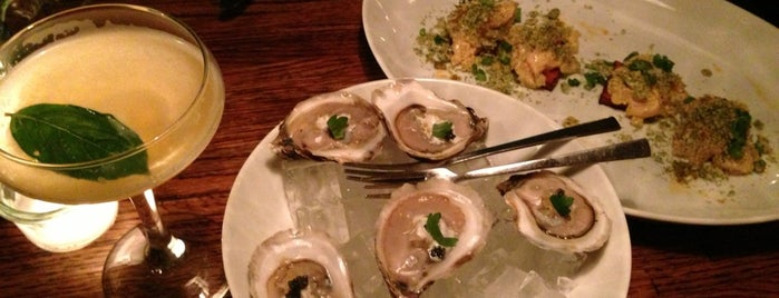 Crave Fishbar is one of NYC Happy hour oysters.