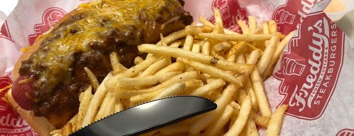 Freddy's Frozen Custard & Steakburgers is one of Orte, die Joanna gefallen.