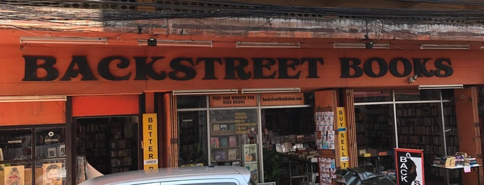 Backstreet Books is one of Chiang Mai.