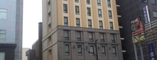 Shizutetsu Hotel Prezio Shizuoka-Ekikita is one of Lieux qui ont plu à まるめん@下級底辺SOCIO.