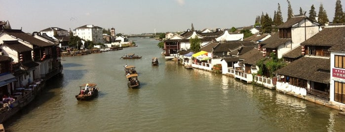 Zhujiajiao Ancient Town is one of Orietta 님이 저장한 장소.