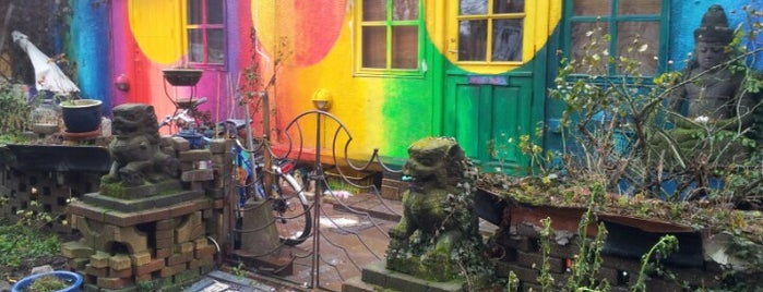 Christiania is one of Copenhagen.