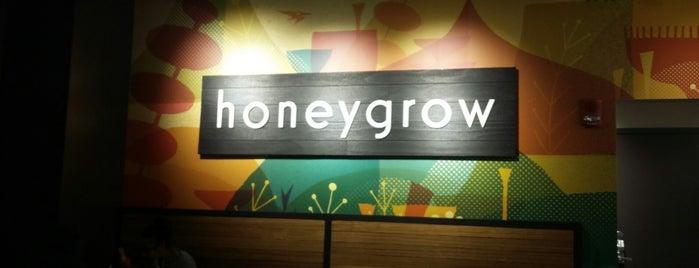 honeygrow is one of Lugares favoritos de Joel.