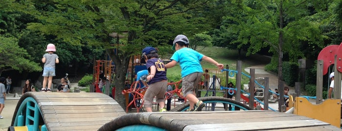 Higaghihirao Park is one of Tempat yang Disukai まるめん@下級底辺SOCIO.