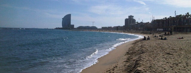 Platja del Somorrostro is one of Barcelona.