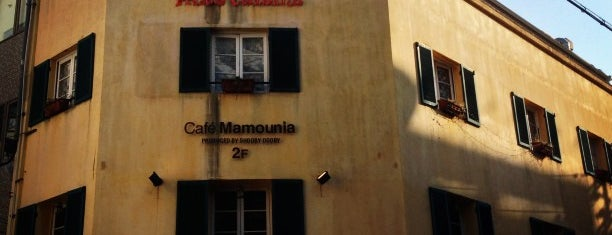 Cafe Mamounia is one of Kobe-Japan.