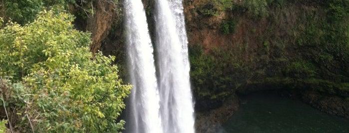 Wailua Falls is one of kauai.