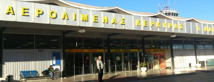 Corfu Ioannis Kapodistrias International Airport (CFU) is one of Free WiFi Airports 2.