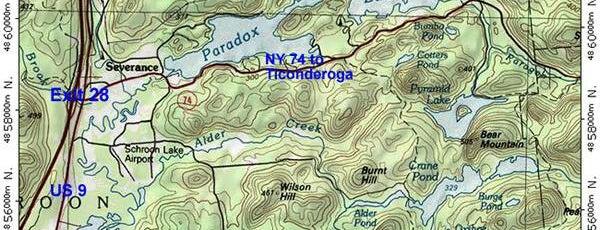 Exit 28 on I-87 is one of Orte, die Nicholas gefallen.