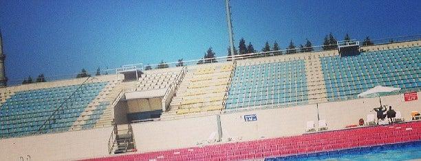 Atatürk Olimpik Spor Kompleksi is one of Orte, die Erkan gefallen.