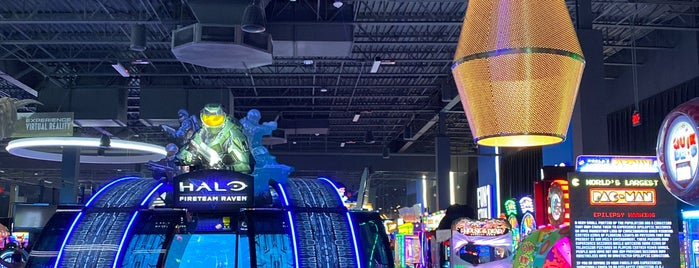 Dave & Buster's is one of Trips south.