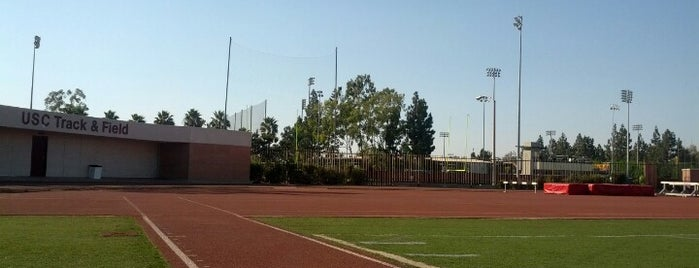 USC Track & Field is one of #FitBy4sqDay Tips.