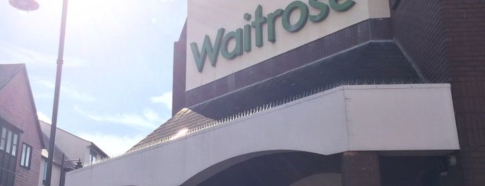 Waitrose & Partners is one of Lieux qui ont plu à Carl.