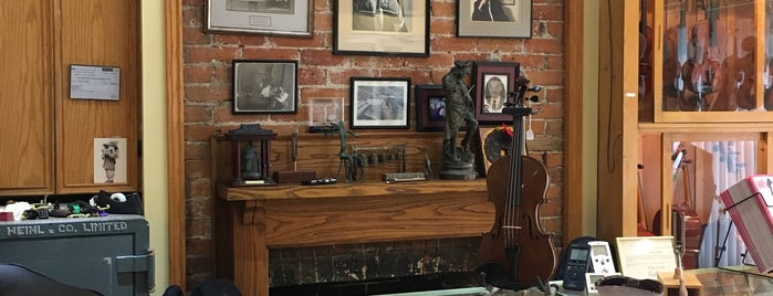 George Heinl and Co. is one of Music Instrument Stores in Canada.